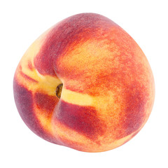 close up of peach fruit