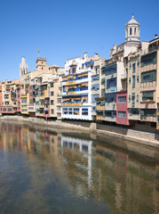 View of Girona,Catalonia,Spain