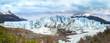Perito Moreno Glacier in the Los Glaciares National Park .