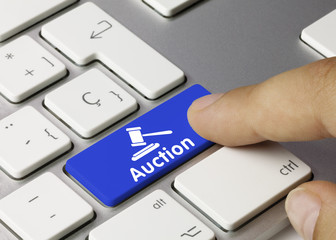 Auction. Keyboard