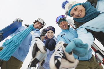 Italien,Südtirol, Menschen, Winter, Untersicht