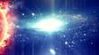 Colorful space nebula 5