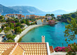 canvas print picture - Summer view of Assos village (Greece,  Kefalonia).