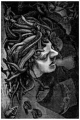 La Méduse - Medusa (from : da Vinci)