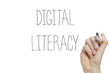 Hand writing digital literacy