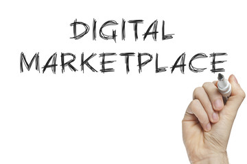 Hand writing digital marketplace