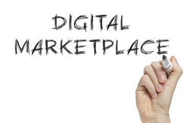 Hand writing digital marketplace