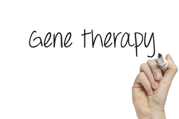 Hand writing gene therapy
