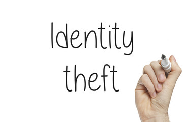 Hand writing identity theft