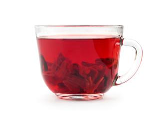 aromatic Hibiscus tea