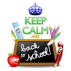 Keep Calm and...Back to School