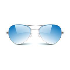 illustration of sun glasses on white background