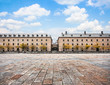 Historic architecture in San Lorenzo de El Escorial, Spain
