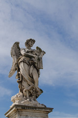 Angel statue, Castel Sant'Angelo, Rome, Italy