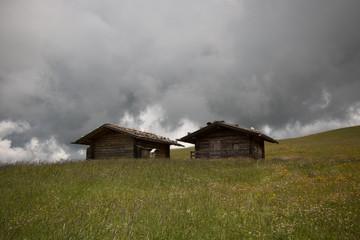 baite sull' Alpe di Siusi