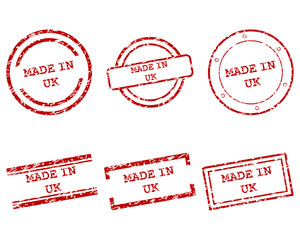 Made in UK Stempel