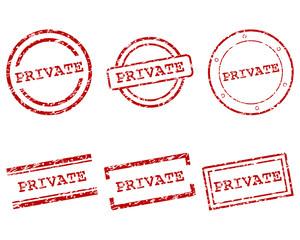 Private Stempel