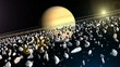 Fototapete Raum - Universum - 3D-Bilder