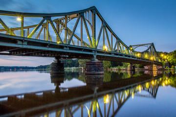 Glienicker Brücke in Potsdam/Berlin