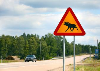 .Moose Sign
