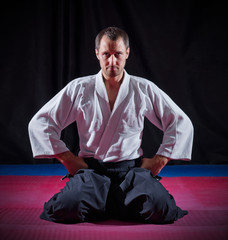 Aikido fighter