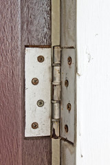 old hinges door