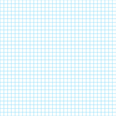 Seamless sheet of exercise book check pattern