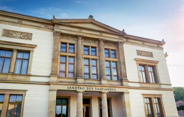 Saarbrücken Landtag des Saarlandes Saarländischer Landtag