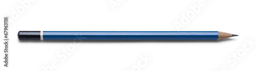 canvas print picture Blue Drawing Pencil