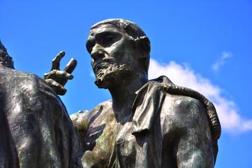 Rodin, Los burgueses de Calais, Calais, Francia