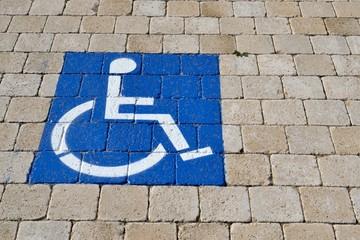 Signalétique handicapé