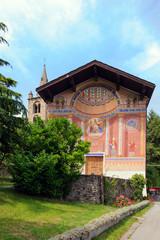 Chiesa di Saint Leger ad Aymavilles - A.D. 1762 - Valle d'Aosta