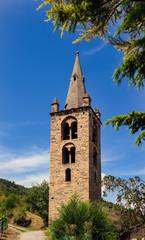 Campanile della Chiesa di Saint Léger - Valle d'Aosta