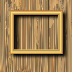 yellow gilted frame