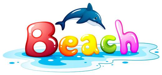 Summer escapade at the beach