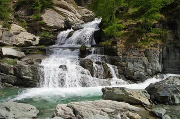 Lillaz Wasserfall - Lillaz waterfall 05