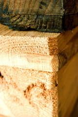 Wooden Euro pallet detail