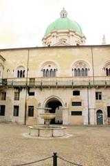 square in Brescia in northern Italy