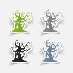 realistic design element: tree
