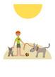 kinder lieben hunde