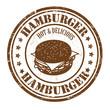 Hamburger stamp