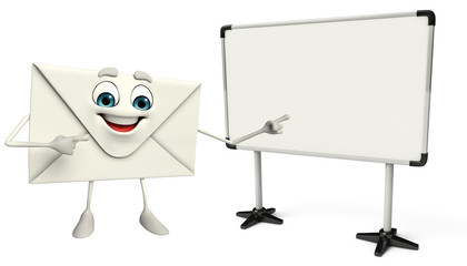 Mail Character with display board