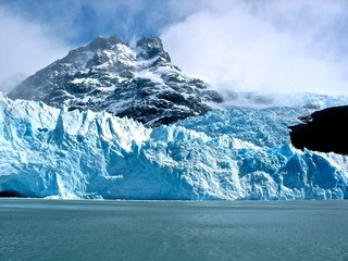 The Mountain Behind the Glaciar