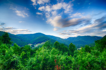 valley near maggie valley north carolina