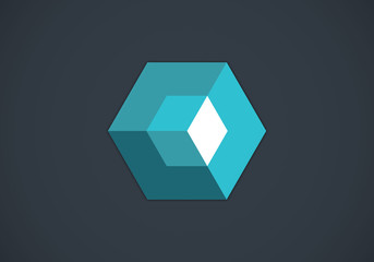 box-3D-abstract-vector-logo