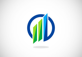 finance-graph-vector-logo
