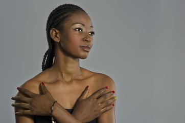 Beautiful African Woman Portrait