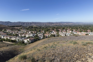 Simi Valley California Neighborhood