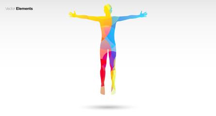 corpo colori, fantasia