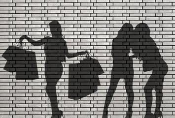 shoppeuse et jalouses